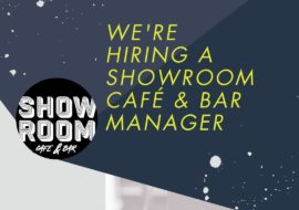 We're Hiring! Are you the next Showroom Bar Manager?